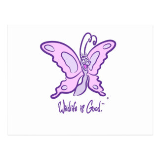 Butterfly's Wild Smile Postcard