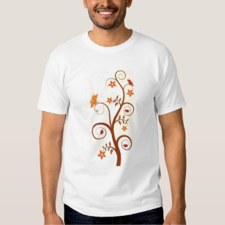 ButterflyTree On Yellow T-Shirt