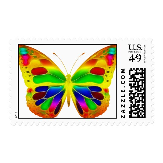 ButterflyWarrior 1 Stamp