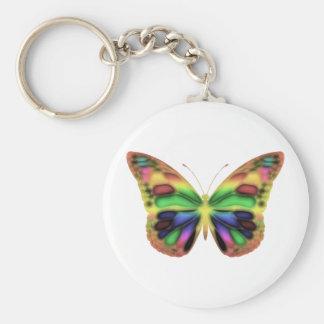 ButterflyWarrior 2 Basic Round Button Keychain