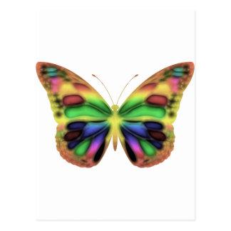 ButterflyWarrior 2 Postcard