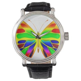 ButterflyWarrior 3 grande Reloj De Mano