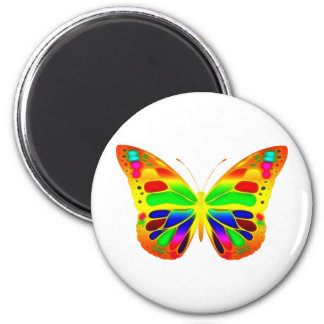 ButterflyWarrior 3 Imán Redondo 5 Cm