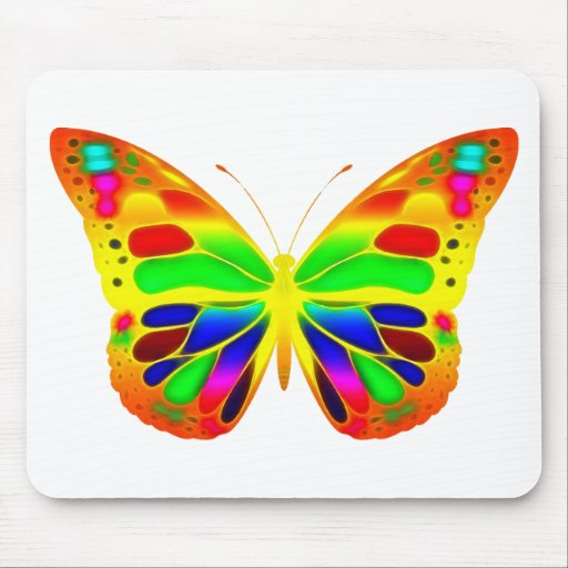 ButterflyWarrior 3 Mouse Pad