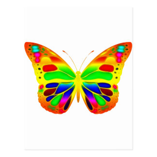 ButterflyWarrior 3 Postcard