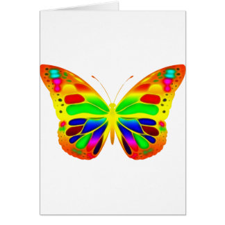 ButterflyWarrior 3 Tarjeta De Felicitación