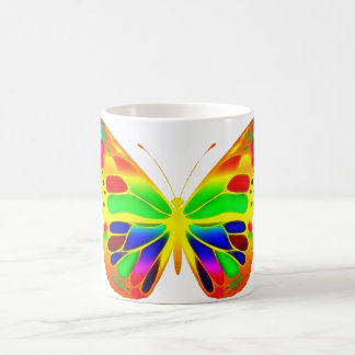 ButterflyWarrior 3 Taza Clásica