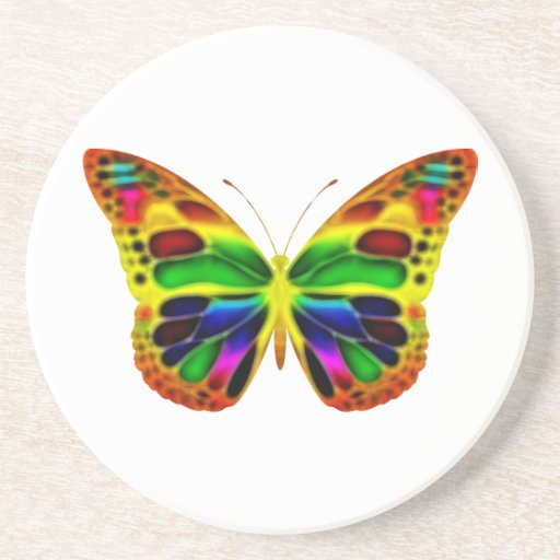 ButterflyWarrior 4 Coaster