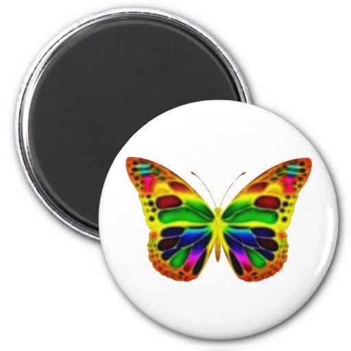 ButterflyWarrior 4 Imán Para Frigorífico