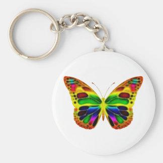 ButterflyWarrior 4 Llavero Redondo Tipo Pin