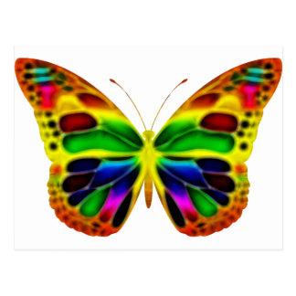 ButterflyWarrior 4 Postcard