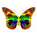 ButterflyWarrior 4 Tarjeta Postal