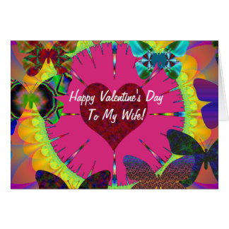 Butterfuly Valentine's Day Card