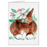 Butterfy Nap Greeting Card