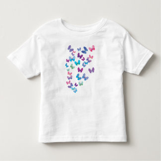 butterfy swarm toddler t-shirt