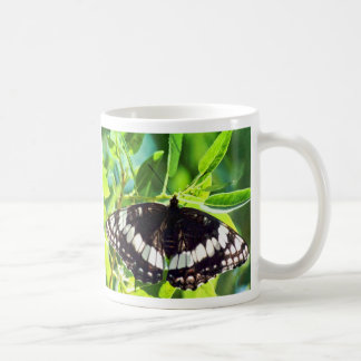Butterlies Picnic Collection Classic White Coffee Mug