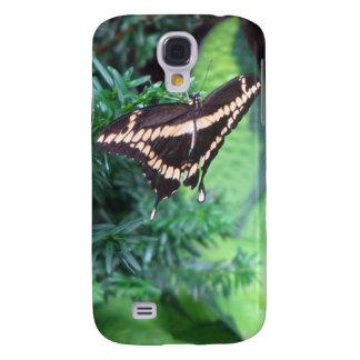 Butterly Black Swallowtail on Hosta Samsung Galaxy S4 Cover
