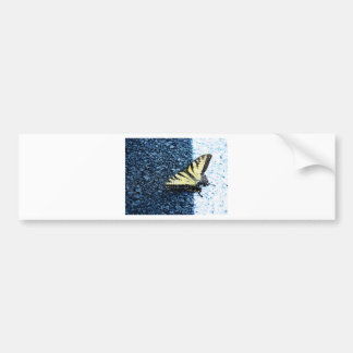 Butterly Bumper Sticker