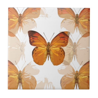 Butterly Small Square Tile
