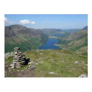 Buttermere and Crummock Water Postcard