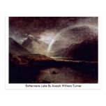 Buttermere Lake By Joseph William Turner Postcard