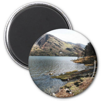 Buttermere Lake, UK 2 Inch Round Magnet