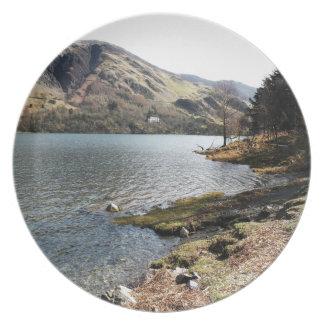 Buttermere Lake, UK Melamine Plate