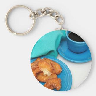 Buttermilk Donut Keychain
