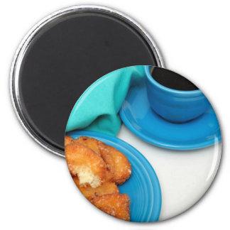 Buttermilk Donut Fridge Magnet