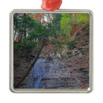 Buttermilk Falls Cuyahoga National Park Ohio Metal Ornament