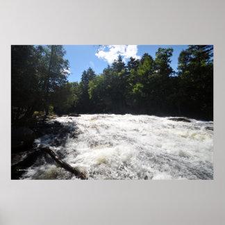 Buttermilk Falls in the Adirondack print 08 282