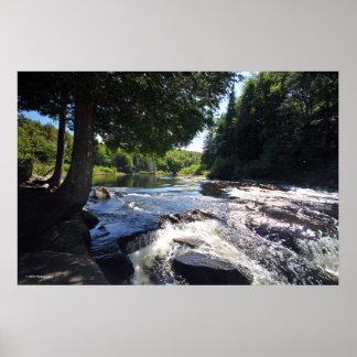 Buttermilk Falls in the Adirondack. print 08 290