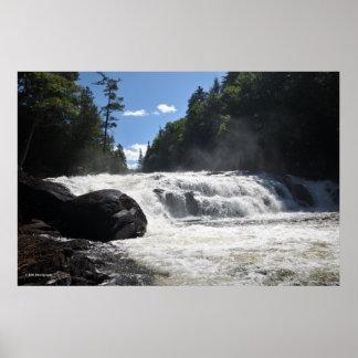 Buttermilk Falls in the Adirondacks. print 08 297