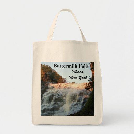 BUTTERMILK FALLS, ITHACA bag