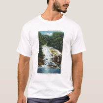 Buttermilk Farms State Park Lower Falls View T-Shirt