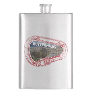 Buttermilks Climbing Carabiner Flask