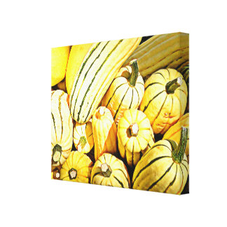 Butternut Squash Canvas Print