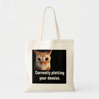 Butters Plots Funny Cat Budget Tote