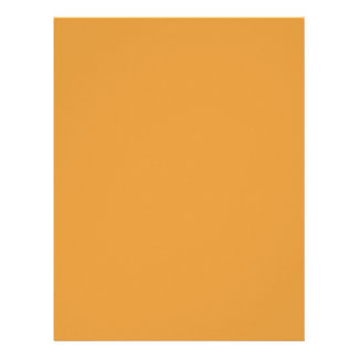 BUTTERSCOTCH (a sweet solid candy color) ~ Letterhead