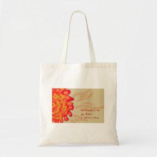 Butterscotch Orb Haiku Art Tote Bag