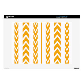 Butterscotch Tire Tread Decal For Laptop
