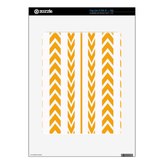 Butterscotch Tire Tread Skins For iPad