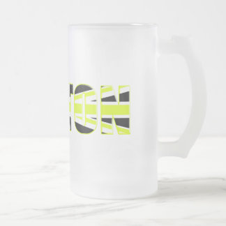 Button 2009 gifts for motorsport fans and racers 16 oz frosted glass beer mug