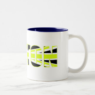 Button 2009 gifts for motorsport fans and racers Two-Tone coffee mug