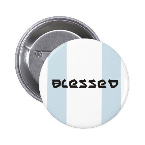 Button Abrahams Segen Pin Redondo 5 Cm