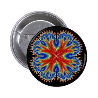 Button: Antarian Moon Blossom 2 Inch Round Button