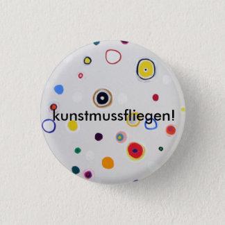 "Button ""art-must-fly """