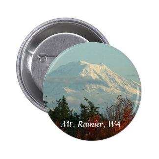 Button: Autumn Mt. Rainier