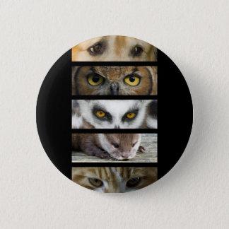Button Badge - Animals Eyes