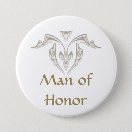 Button Badge - Man Of Honor